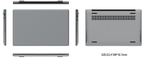 2020 Great New Design 14 Inch Windows 10 4+32/64G Intel? HD Graphics 500/KN3350
