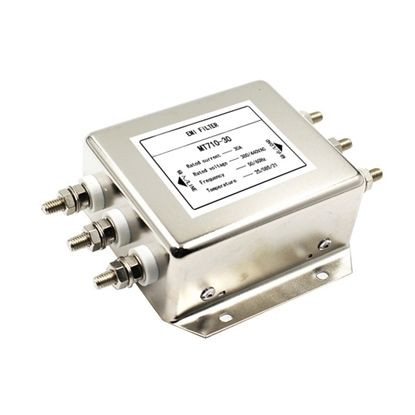 40A 3-Phase 3-Wire EMI Power Line Filter