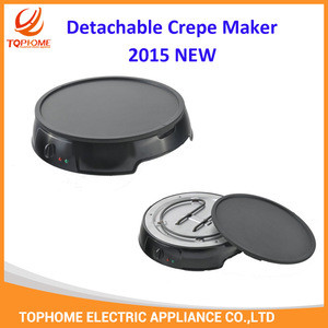 2 IN 1 Detachable Crepe Maker 2015 NEW