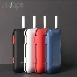 2018 New pluscig B2 box mod 2200mah Heating Stick Dry herb Vaporizer for tobacco cartridges HeatSticks