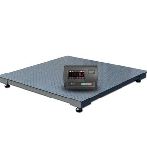 2*2M 2*3M Pitless Type Electronic Heavy Duty Used Truck Scale Weighbridge 1-3Ton  For Sale China