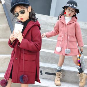 B22726A Sweet Girls fashion winter Woolen coat