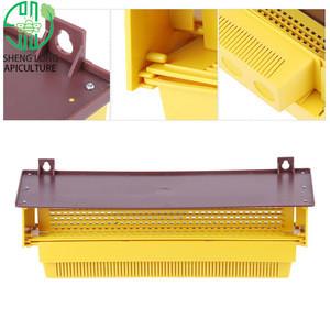 Bee Trap Plastic Conllector Beekeeping Equipment Yellow Pollen Collector
