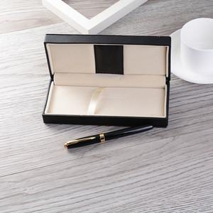 Best tourist souvenir women gift sets wholesale metal material black gel pen with gold accessories