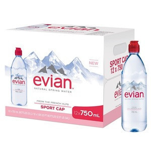 Buy Evian French evian plastic bottle 500ml mineral water brands