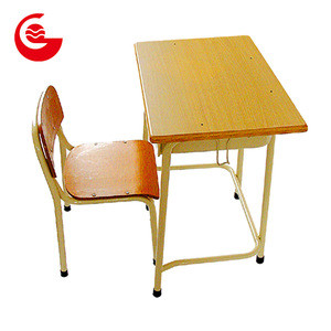 Cheap school chairs furniture desk set kids student study table and chair