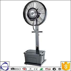 "China factory 26'' 30"" 0utdoor centrifugal humidifier industrial water mist fan"