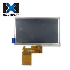 Comfortable new design small touch screen monitor lcd display 350 cd/m2