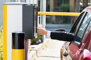 Cost-effective Intelligent Ticket Dispensing Parking Device
