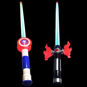 Custom led toy sword with sound  stick