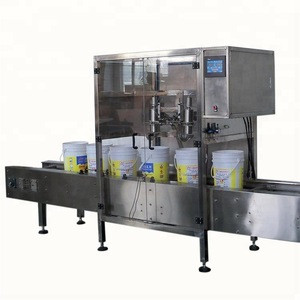 Factory direct automatic barreled liquid weighing filling line