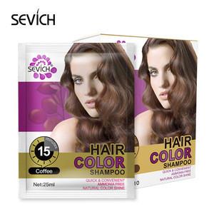 Factory direct sale professional hair dye color hair dye shampoo
