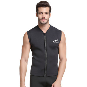 Factory Direct Sales Front Zipper Long John 5mm Yamamoto Neoprene Spearfishing Surfing Wetsuit Vest