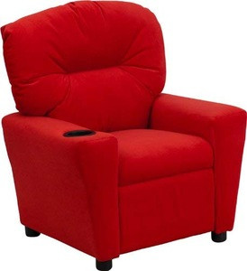 Factory wholesale kids recliner chair leather child sofa