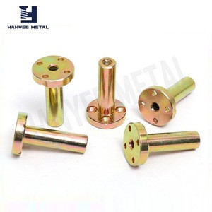 Fine appearance factory supply brass guide bushing lock ring nut