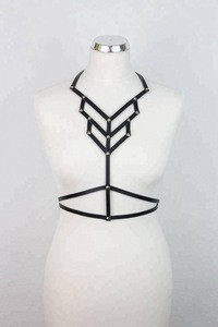 Geometric Leather BODY HARNESS GDH-0044