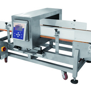High accuracy control and good shape with industrial food metal detectors