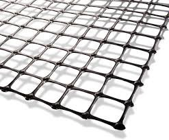 Highway enhancement biaxial pp geogrid 35kn
