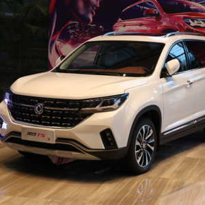 Hot sale and new design cars automatic suv with dongfeng fengxing T5 luxury suv cars for exporting
