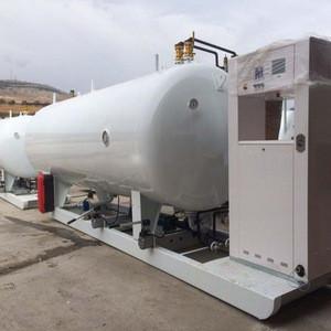 Hot sell good quality lpg gas skid refilling station/LPG filling plant for Nigeria market
