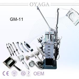 Hotsale 19 in 1 Multi functional Beauty Equipment Facial Steam Machine For Salon GM-11