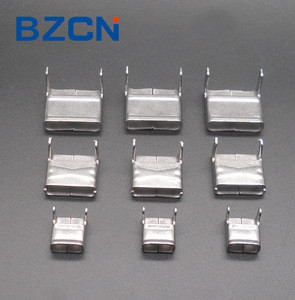 L type stainless steel banding buckle for cable ties SUS 201 304 316 Clip