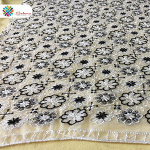 Manufacturer white lace sewing lace fabric net lace accessories