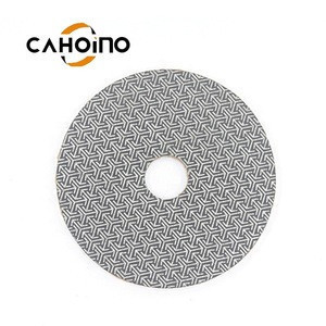 Multiple Diamond Grit Electroplated Polishing Pad For Polished Concrete