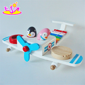 New products multi-function toy wooden infant musical instruments W07A113