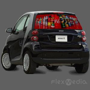 Oem Advertising Sound Activated El Car Sticker