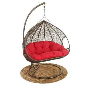 Oem Outdoor Factory Whosale Garden Swing2 Seats Hanging Swing