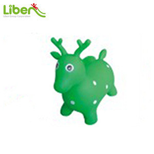 PVC inflatable jumping horses/Horse jumps/Skippy horsejumping toy animal horse,bouncing toys