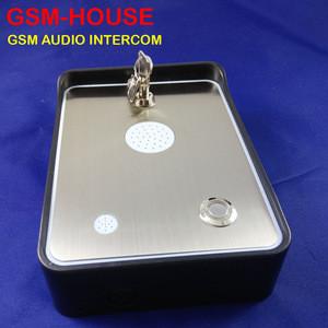 Rain proof audio gsm door phone gsm for villa/house