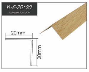 RAITTO Brand PVC Corner Guard Printed Plastic Decorated Profile
