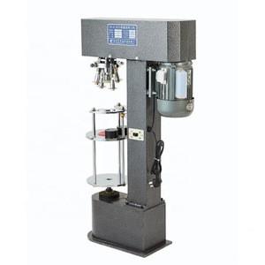 Semi automatic strawberry jam bottle capping machine