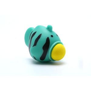 Squeeze Fish Keyring Toy - PVC Plastic Vinyl Fish Shooting Eva Ball Popper