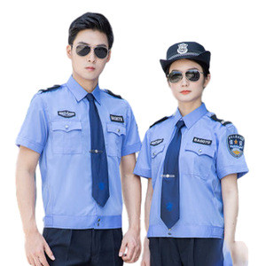 Textiles security guard uniform shirts cheap security uniforms