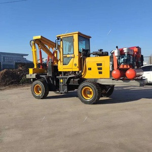 Top seller durable ground screw pile driver for foundation installation screw pile driver machine solar pile driver