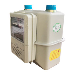 Ultrasonic flow gas meter g1.6 home use by ic card memory card recharge card