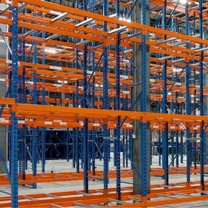 Vinatech supplies warehouse storage racks heavy duty used slotted angle rack