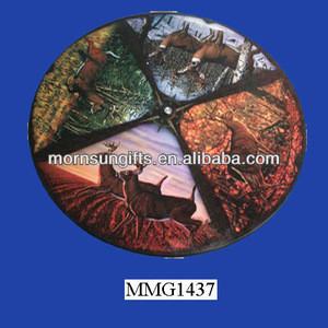 Vintage Ceramic Mossy Oak Lazy Susan Plate Wholesale