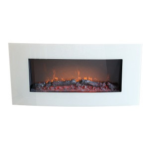 Wall Mounted Electric Fireplace Wall Hanging Fire Curved Panel