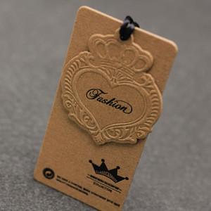 Wholesale Custom Garment Tags Paper Swing Tags