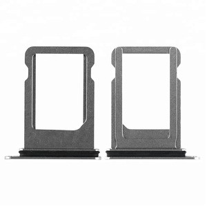 Wholesale Original Mobile Phone Parts Sim Tray Holder Replacement For Iphone X