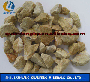 Yellow river stone pebbles landscape stone