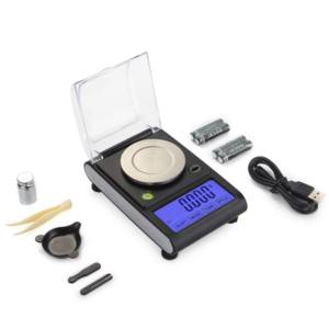 0.001g Precision Portable Electronic Jewelry Scale 20g/0.001Diamond Gold Germ Medicinal Pocket Digital Scale Weighing Balance