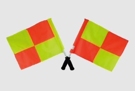 Referee flag for sports equipment