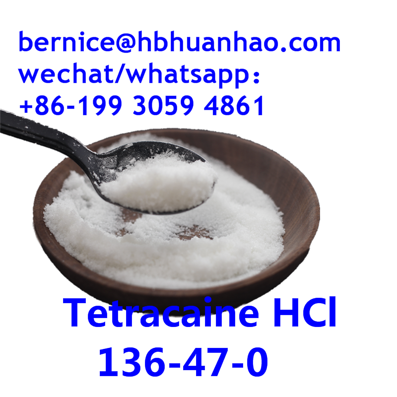 China supply  Tetracaine HCl 136-47-0  powder with safe delivery
