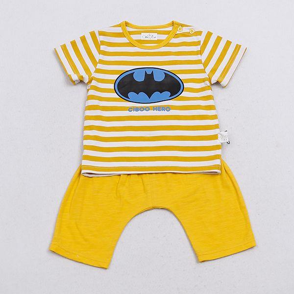 Import BATMAN Short Sleeve Baby Cloth Set from China