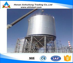 100t-10000t Spiral Steel Silo Used Cement Silo